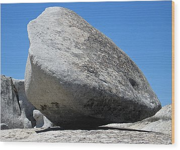 Pay The Stone - Bald Rock 2016 Wood Print by James Warren