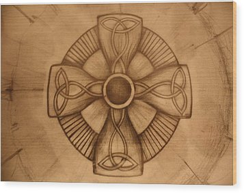 Pd8-10 Wood Print by Shannon Rains