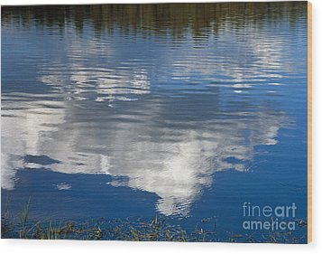 Peace Wood Print by Kathy McClure
