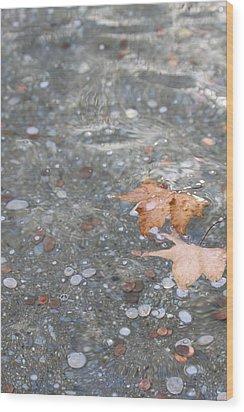 Peace Wood Print by Lauri Novak