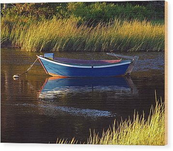 Peaceful Cape Cod Wood Print by Juergen Roth