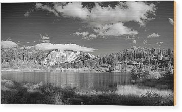 Wood Print featuring the photograph Peaceful Lake by Jon Glaser