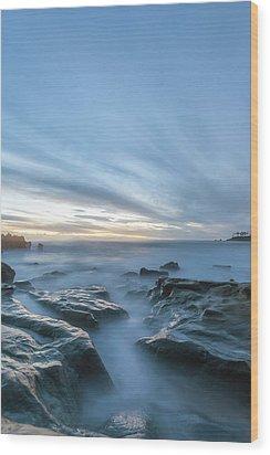 Wood Print featuring the photograph Peaceful Ocean by Cliff Wassmann