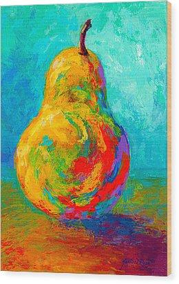 Pear I Wood Print