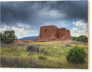 Pecos National Historical Park Wood Print by James Barber