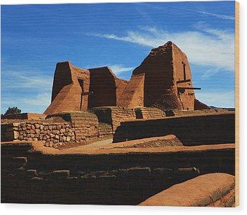 Pecos New Mexico Wood Print
