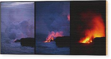 Pele's Breath Series Wood Print