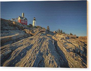 Pemaquid Point Wood Print by Rick Berk