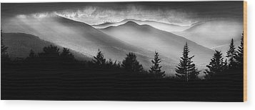 Wood Print featuring the photograph Pemigewasset Wilderness by Bill Wakeley