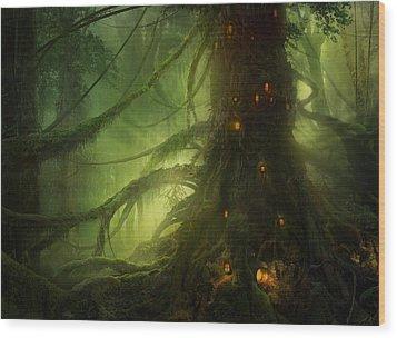 Pendelhaven Wood Print by Philip Straub