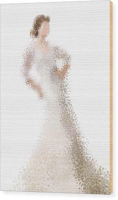 Wood Print featuring the digital art Penelope by Nancy Levan