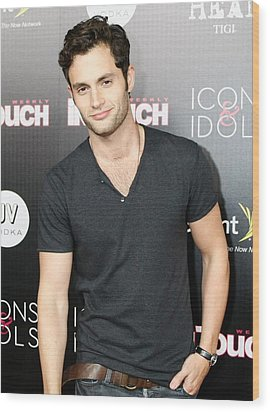 Penn Badgley At Arrivals For In Touch Wood Print by Everett