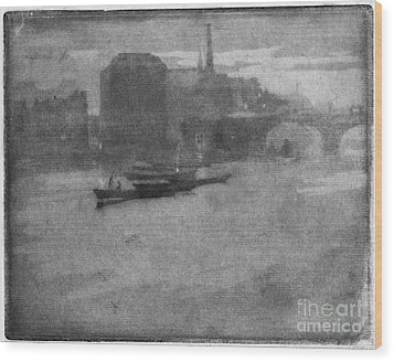 Pennell Thames, 1903 Wood Print by Granger