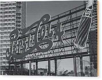 Pepsi-cola Sign II Wood Print