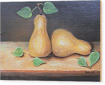 Peras Wood Print
