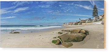 Wood Print featuring the photograph Perfect Day At Horseshoe Beach by Peter Tellone