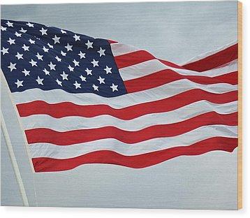 Perfect Flag Wood Print