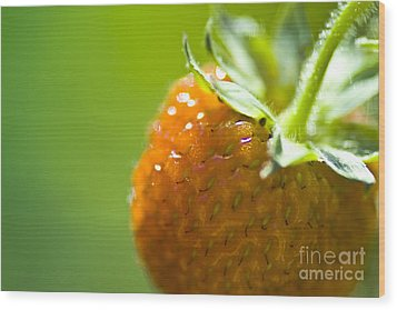 Perfect Fruit Of Summer Wood Print by Heiko Koehrer-Wagner