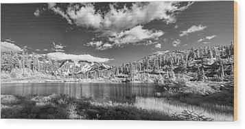 Wood Print featuring the photograph Perfect Lake At Mount Baker by Jon Glaser