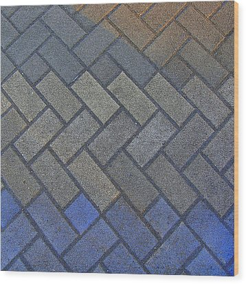 Perfect Tiling Wood Print by Roberto Alamino