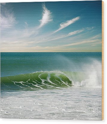 Perfect Wave Wood Print