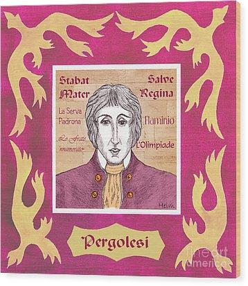 Pergolesi Wood Print by Paul Helm
