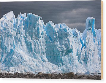 Perito Moreno Glacier - Patagonia Wood Print by Carl Amoth