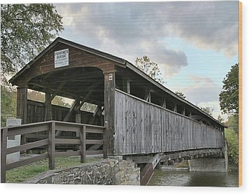 Perrine's Bridge Wood Print by DJ Florek