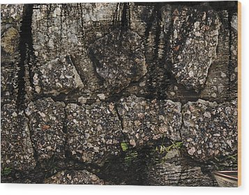Pers Pective Wood Print by Ove Rosen
