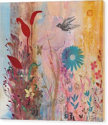 Persephone's Splendor Wood Print