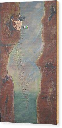 Perseverance Wood Print by V Boge