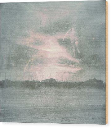 Ghosts And Shadows Vii - Personal Rapture  Wood Print