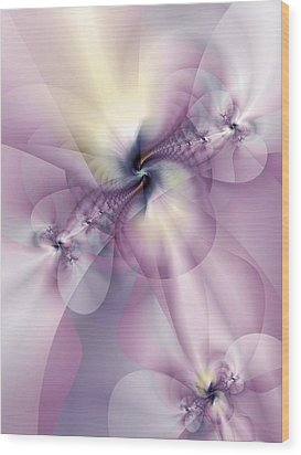 Petals Of Pulchritude Wood Print by Casey Kotas