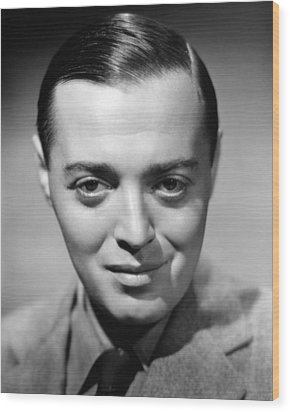 Peter Lorre, 1938 Wood Print by Everett