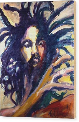 Peter Tosh Wood Print by Les Leffingwell