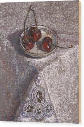 Petite Bowl IIi Wood Print by L Diane Johnson