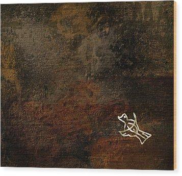 Petroglyph 5 Wood Print