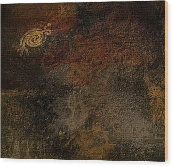 Petroglyph 6 Wood Print