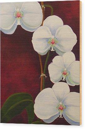 Phaleanopsis Wood Print