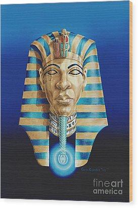 Pharaoh Wood Print by George Combs