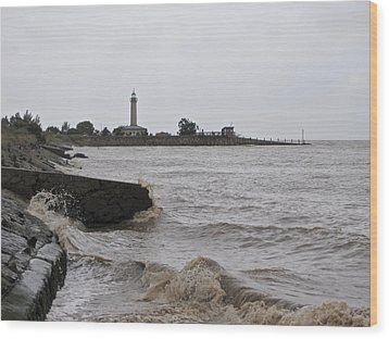 Wood Print featuring the photograph phare de Richard by Marc Philippe Joly