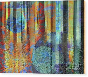 Phasing Through Wood Print by Robert Ball