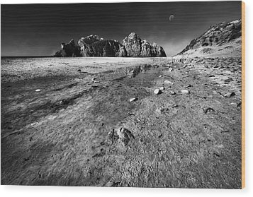 Wood Print featuring the photograph Pheiffer Beach -keyhole Rock #17 Big Sur, Ca by Jennifer Rondinelli Reilly - Fine Art Photography