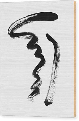 Phi Wood Print by Jana  Stojan