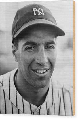 Phil Rizzuto, September 10, 1941. Csu Wood Print by Everett