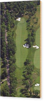 Philadelphia Cricket Club Militia Hill Golf Course 13th Hole Wood Print by Duncan Pearson