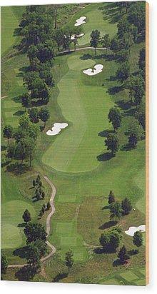 Philadelphia Cricket Club Militia Hill Golf Course 16th Hole 2 Wood Print by Duncan Pearson