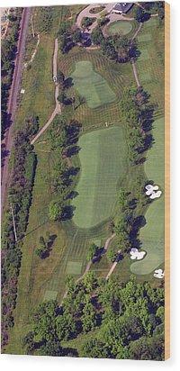Philadelphia Cricket Club Militia Hill Golf Course 2nd Hole Wood Print by Duncan Pearson