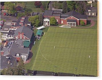 Philadelphia Cricket Club Squash Wood Print by Duncan Pearson