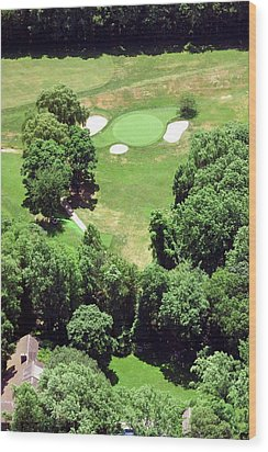 Philadelphia Cricket Club St Martins Golf Course 5th Hole 415 W Willow Grove Ave Phila Pa 19118 Wood Print by Duncan Pearson